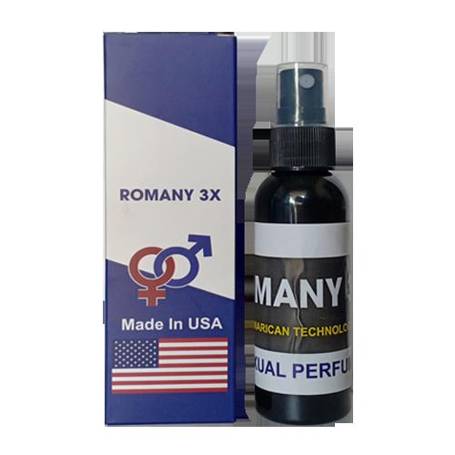 Nước Hoa Dạng Xịt Không Mùi Cao Cấp Romany 3X Kích Dục Siêu Tốc
