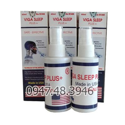 Viga Sleep Plus + Chai Xịt Gây Mê Kích Dục Cao Cấp Nhập Khẩu Chính Hãng